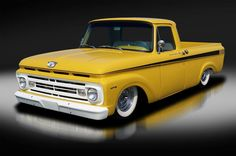Ford : F-100 Custom Pickup. Sweet. Cadillac 472 V8. Many Mods!