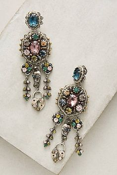 Marianna Chandelier Clip-On Earrings