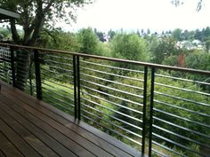 Fascinating Design Also Image Metal Deck Railing Kits Metal Railings Deck Railing New Decoration Metal Middot Bull Piquant Impressive Metal Deck Railing Picture Ideas Wood Decks' Small Patio Garden Ideas Pictures' Small Patio Landscape Ideas also Horizontal Deck Railing, Deck Railing Kits, Metal Deck Railing, Modern Railing, Balcony Railing Design, Stair Railing, Deck Design, Railing Ideas, Patio Stairs