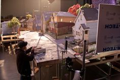 ParaNorman On Set. The amount of work that goes into claymation is ridic. I have mad respect for these guys. Plus its a great movie!