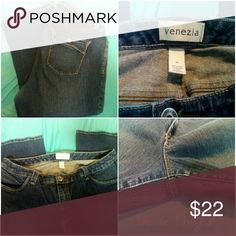Venezia Jeans Very gently worn, no flaws! Venezia jeans size 18. 99% cotton 1% spandex Venezia Jeans