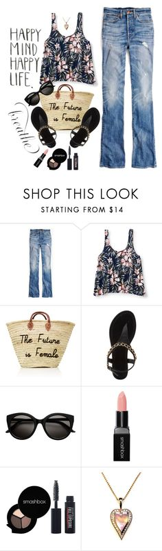 """""""Relax"""" by juliehooper ❤ liked on Polyvore featuring Madewell, Aéropostale, Charlotte Russe, Smashbox and Gipsy"""