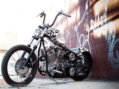 "Bobby Seeger and Indian Larry Motorcycles latest rippin' ride dubbed the ""White Devil"" features a potent 113 cubic-inch S engine mounted in a wishbone frame and includes plenty of signature Indian Larry Motorcycles' parts."