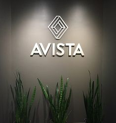 We made these sleek metal letters for a customer | Let us help you create eye-catching custom metal letters for your next project | Follow the link to learn more about creating your own today | Advantage Signs & Graphics | MetalPlaques.com