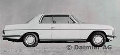 Mercedes-Benz Coupé Typ 250 C, 280 C, 280 CE, Modellgepflegte Ausführung ab 1973