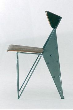 Theophile chair by Marc Berthier  Homage to Jean Prouve