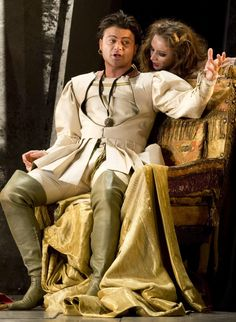 Vittorio Grigolo as the duke in 'Rigoletto'