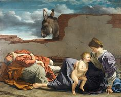The Rest on the Flight into Egypt, c.1620 by Birmingham Museum and Art Gallery, via Flickr