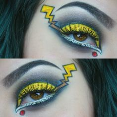 @dracvlina.mua on Instagram - PIKACHU POKEMON GO MAKEUP