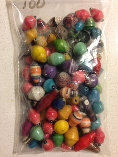 Shanga: Bag of Color Beads
