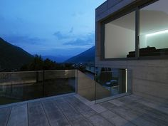 Concrete Residential Architecture | Concrete suburban residential house, Alps, Switzerland: Most beautiful ...