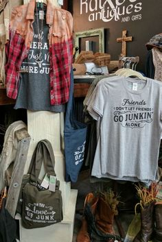 Suzy Swede©️️️️️ Wholesale | Suzy Swede Gone Junkin' Collection | Suzy Swede Graphic tees to show your love of repurposed furniture, rusty farmhouse antiques, flea market finds, barn picking, and all things rustic and vintage.