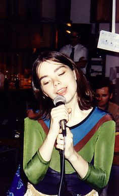 A young and tender photo of Bjork, who was the lead singer of the Sugarcubes before her solo debut and rocket to fame. Follow RUSHWORLD! We're on the hunt for everything you'll love!