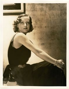 Joan Crawford by George Hurrell (1930s)
