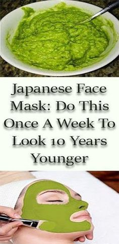 6 Super-Easy Homemade Face Masks for Glowing Skin Japanese Face Mask: Do This Once A Week To Look 10 Years Younger Face Scrub Homemade, Homemade Face Masks, Homemade Skin Care, Anti Aging Tips, Anti Aging Skin Care, Natural Skin Care, Natural Shampoo, Natural Face, Japanese Face