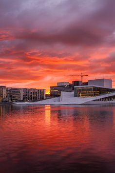 Oslo Sunrise by Raymond Choo