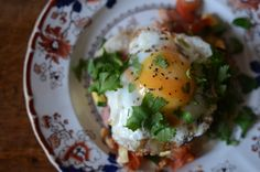 A tasty Mexican style breakfast from The Hungry Cyclist as part of Eat 366