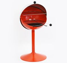WHAT?!?!?!?!!!!!  I HAVE TO OWN THIS!!!!! Shepherd Ball B Q Retro Vintage Mid Century Space Age Barbeque BBQ Coal Grill | eBay