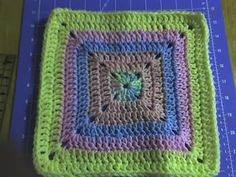 I love this Granny Square pattern because it doesn't have as many holes... :)