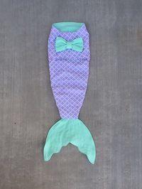 Baby swaddler mermaid tail newborn baby shower gift by CreateATail