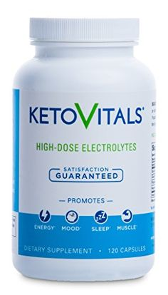 Keto Vitals, Energy Supplement for a Low Carb Diet or Keto Diet, Eliminate Fatigue and Accelerate Weight Loss with this Electrolyte Supplement! Sodium, Potassium & Magnesium, Money back guarantee! ** Read more reviews of the sponsored product by visiting the affiliate link on the image. #obesetobeast