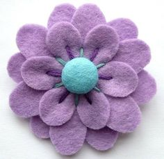 Felt Broach by rhianna26