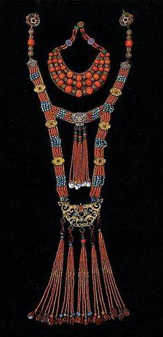 Mongolian jewellery