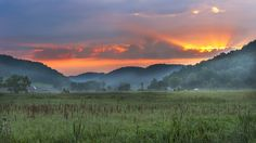 Early morning in the Valley by William ( Bill ) Meschke near Houston, MN
