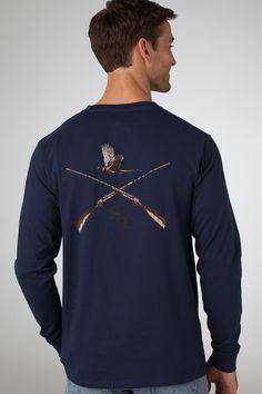 Cross Guns - Navy
