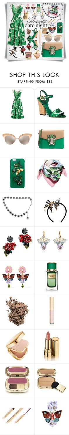"""Dolce Gabbana:Summer Date Night"" by imbeauty ❤ liked on Polyvore featuring Oris, Dolce&Gabbana and summerdatenight"