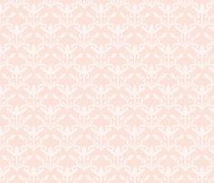 lace cutout shell damask fabric by glimmericks on Spoonflower - custom fabric