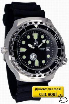 Profi- Reloj de buzo con spez. Tagesanzeige per... #reloj #hombre