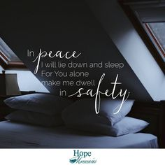 Psalm 4:3   Find more encouragement at HopeMommies.org and follow Hope Mommies on Facebook.  #HopeMommies #Stillbirth #Miscarriage #ChildLoss #InfantLoss #Grief #Hope #Faith #PregnancyLoss #grieving #miscarry