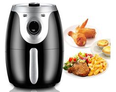 Do you like fried food? Now you can eat without remorse! The culinary technique of frying consists in the complete immersion of food in a warm lipid medium (fat or oil), so that the final product h. Pour Over Kettle, Electric Air Fryer, Creative Inventions, Crispy Fried Chicken, Food Now, French Fries, Grilling, Roast, Favorite Recipes