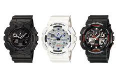 Casio-Gshock-Three-Eye-Watches