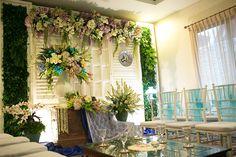 Lamaran Bertema Chinoiserie di Kota Bogor - _DIM0012 Engagement Decorations, Wedding Decorations, Table Decorations, Wedding Mint Green, Green Weddings, Chic Wedding, Rustic Wedding, Pelaminan Modern, Wedding Organiser