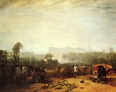 Ploughing up Turnips, near Slough - William Turner