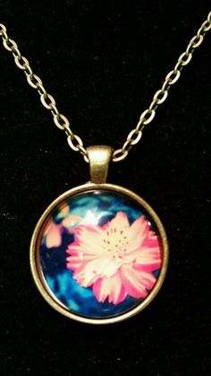 Spectacular Handmade Necklace *beautiful flower* Marigold in Jewelry & Watches   eBay