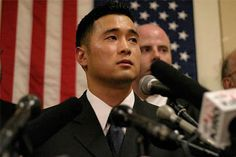 Lt. Ehren Watada - The first commissioned officer of the U.S. armed forces to refuse deployment to Iraq, he created a furor with his objection and public denunciation of the war in January 2006.  After researching the history of Iraq and the events leading to the American invasion, he concluded that the war was based on false evidence.  Good for you Ehren.
