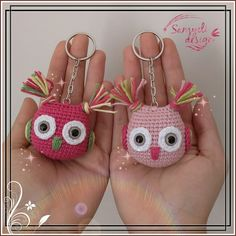 Pembe Baykuşlar Light pink or fuchsia … Both befits the night watchers amigurumi (Visited 37 times, 2 visits today) Motif Mandala Crochet, Owl Crochet Patterns, Crochet Owls, Crochet Diy, Crochet Motifs, Crochet Patterns Amigurumi, Crochet Animals, Owl Patterns, Crochet Mignon