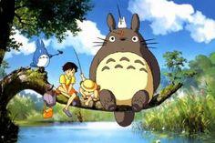 birds,hayao miyazaki,my neighbor totoro,studio ghibli. Pet Anime, Anime Animals, Anime Art, Manga Anime, Studio Ghibli Quotes, Studio Ghibli Movies, The Cat Returns, Japanese Cartoon Characters, Anime Characters