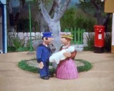 Peter the Postman and Mrs Honeyman