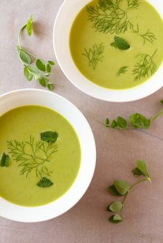 Learn to make green pea soup - take a trip to your freezer and grab a bag of green peas. They're a snap to cook and have an earthy sweetness when pureed.