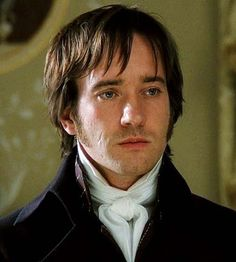 Mr. Darcy... such a serious man! He looks as if he is carrying the weight of the world on his shoulders.