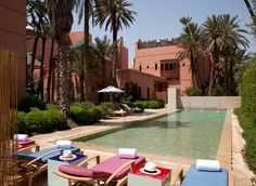 longing to be back lounging at this pool in Marrakesh
