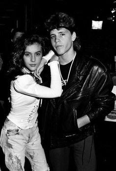 Allyssa Milano & Corey Haim / dating