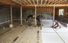 A Basement Floor Without Concrete | JLC Online | Concrete Slabs and Floors, Flooring, Basement, Foundation