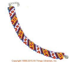 AllThingsUkrainian.com gherdany Bead Jewelry  # GIBN15112