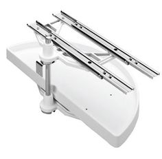 Amazon.com - Rev-A-Shelf RS6882.39.11.570 39 in.L Half Moon Pivot and Slide Out-White - Cabinet Pull Out Organizers