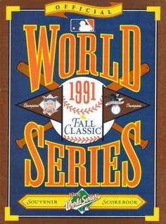 1991 World Series Minnesota Twins vs Atlanta Braves